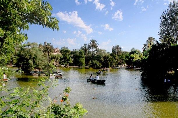 Parque - Barcas